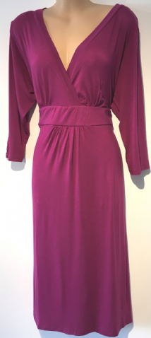 BNWT MAGENTA CROSS OVER DRESS PLUS SIZE 14-32